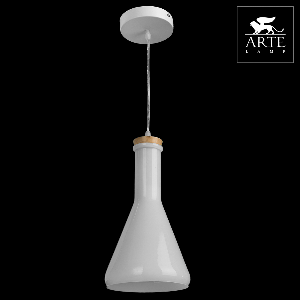 Светильник Arte Lamp A8114SP-1WH Accento