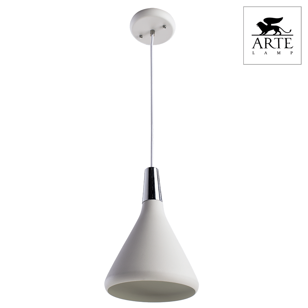 Светильник Arte Lamp A9154SP-1WH Ciclone